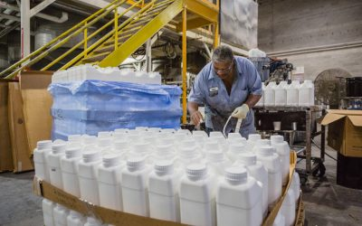 'Giving back' to Sumter in the pandemic: Paint company Sumter Coatings produces hand sanitizer for community, customers